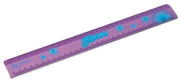 "WESTCOTT BLOOMS METAL RULE CUTTING EDGE CRAFT RULER 12"" 30cm"